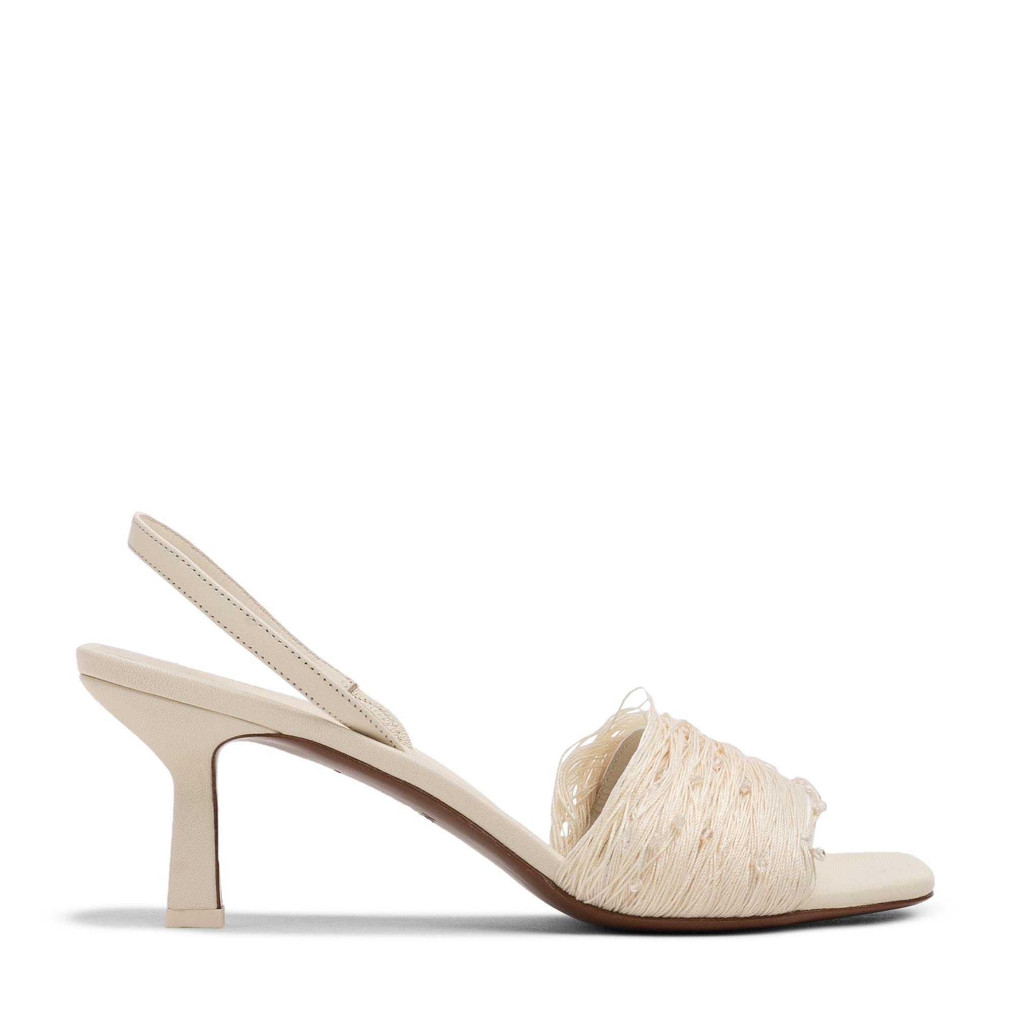 Syrma slingback sandals