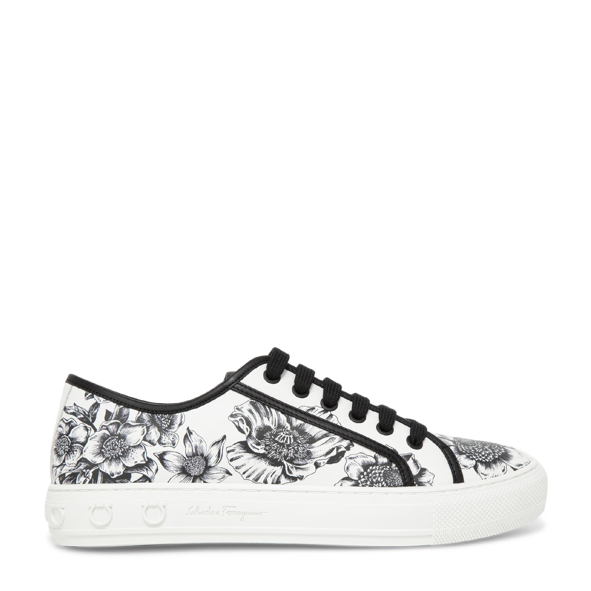 Wildflowers print sneakers