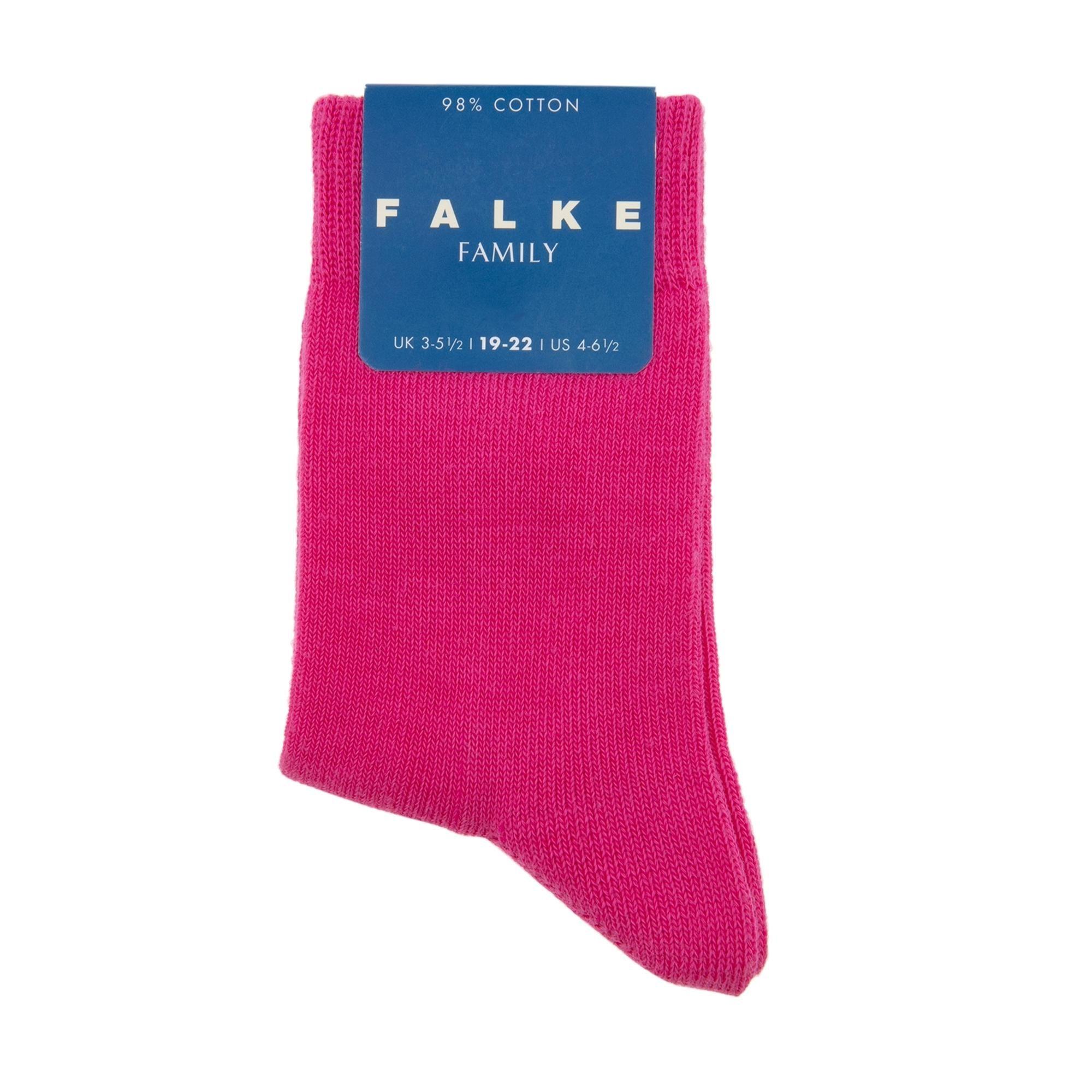 Family cotton blend socks
