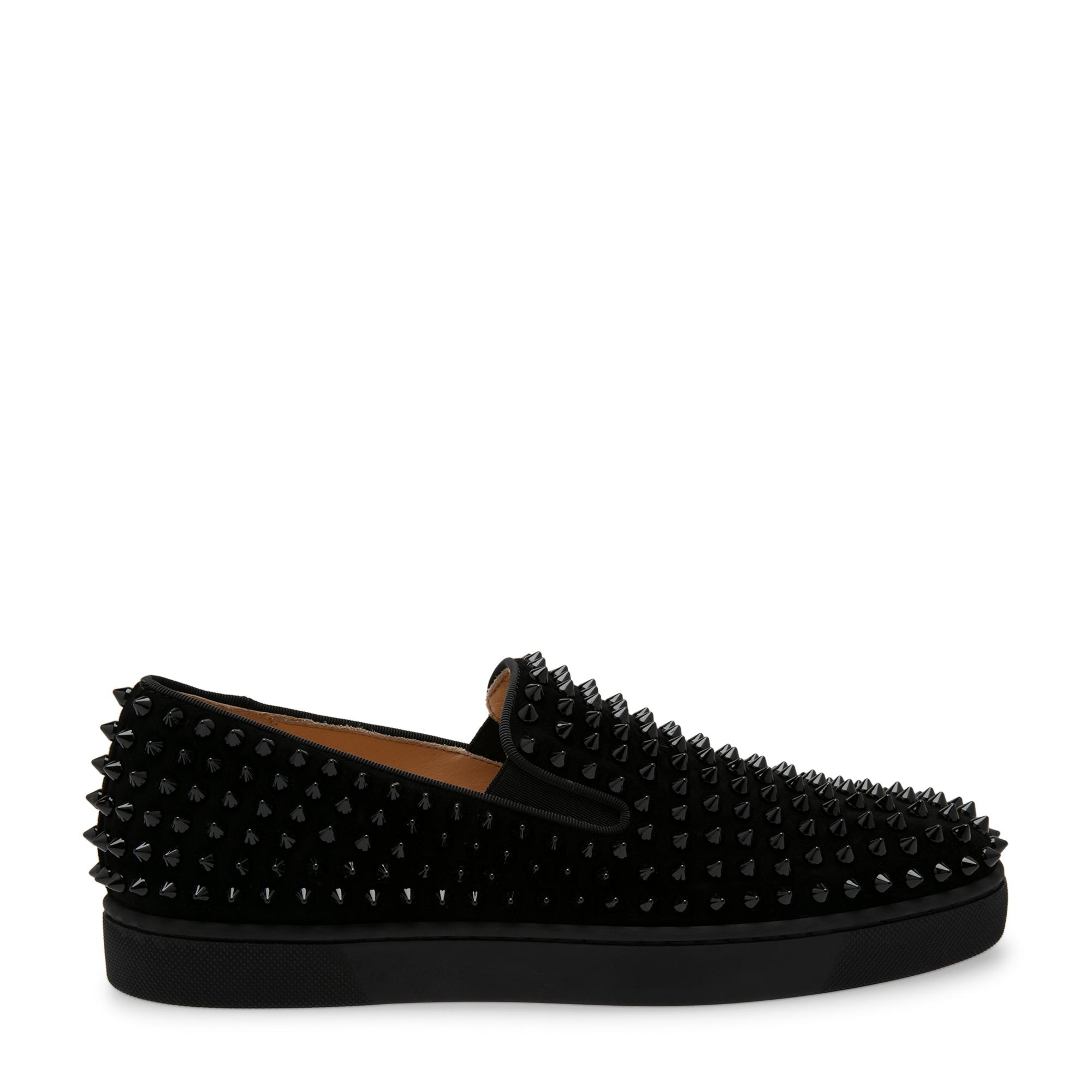 Spike embellished sneakers