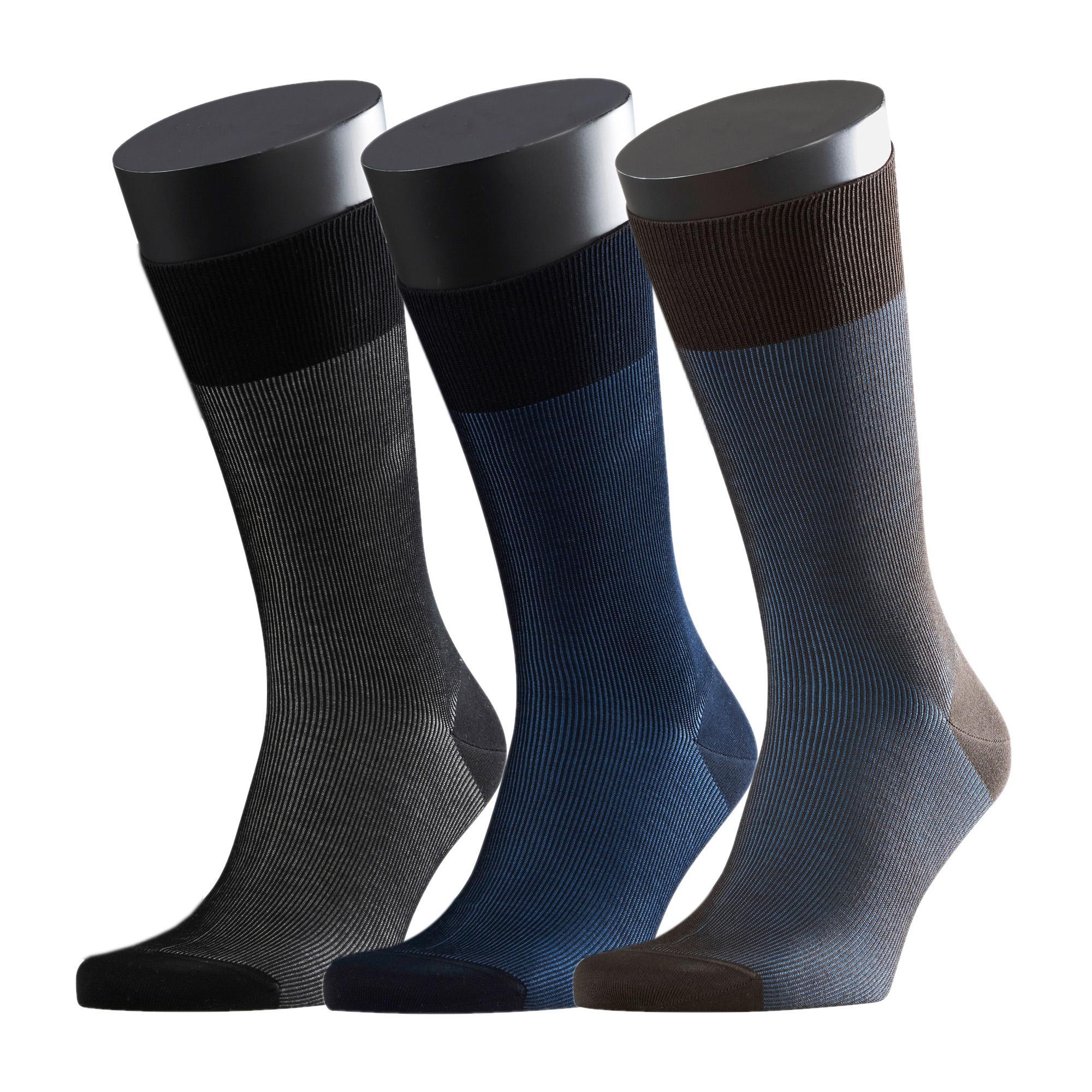 Fine Shadow socks - Pack of 3