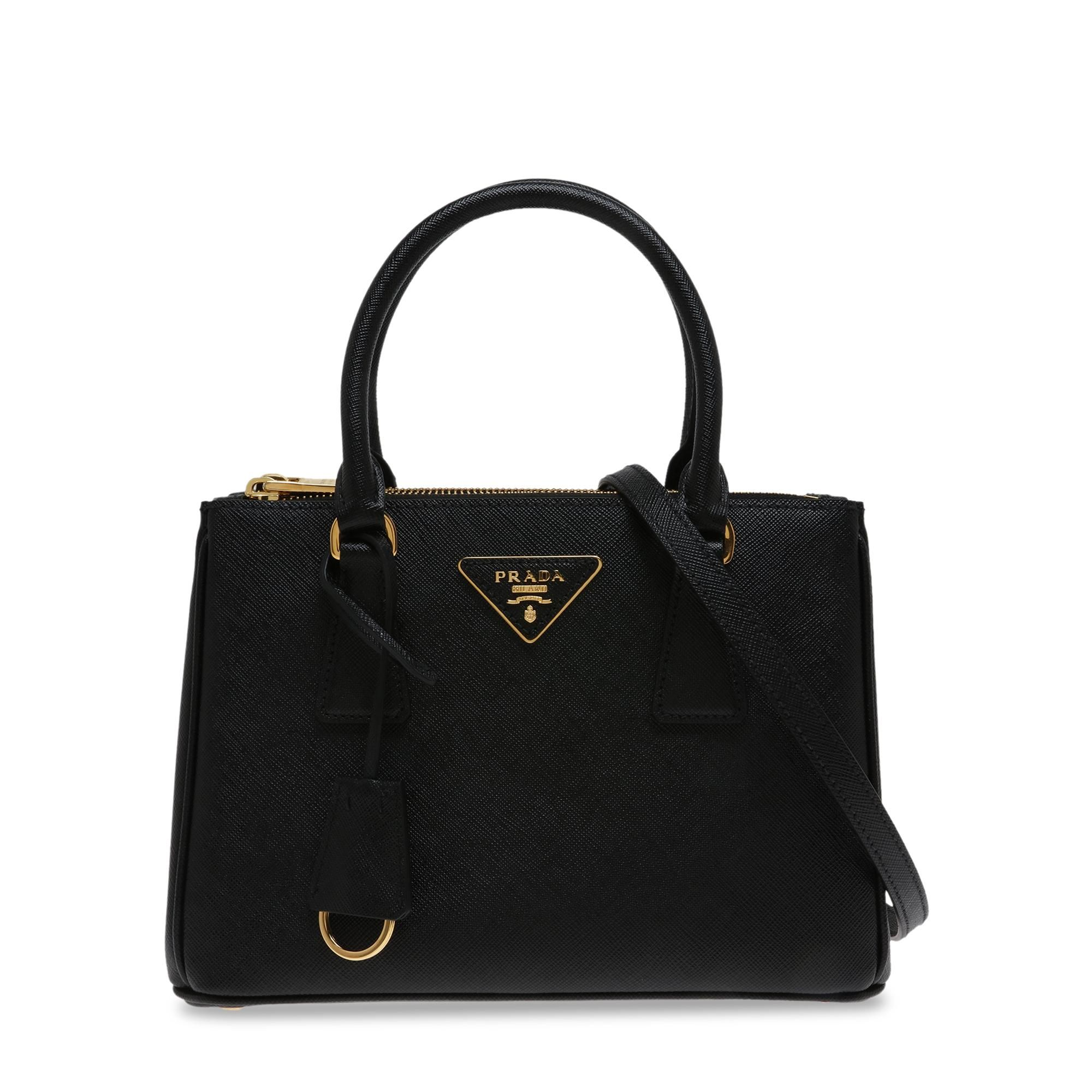 Galleria small leather bag