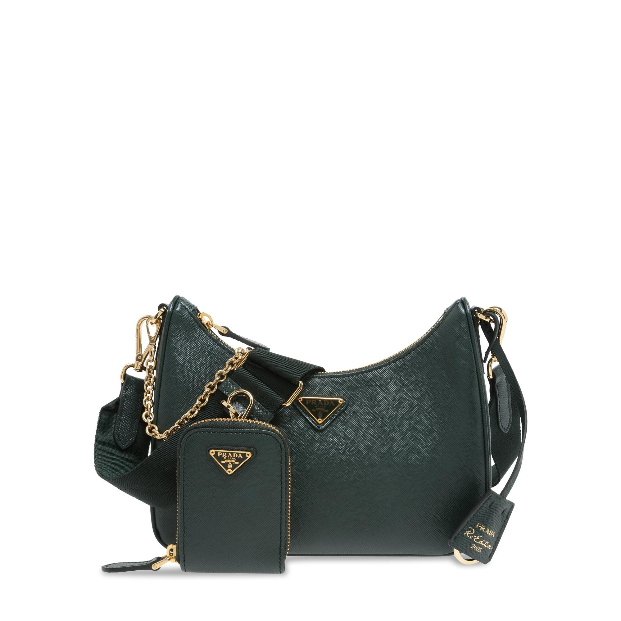 Re-Edition leather bag