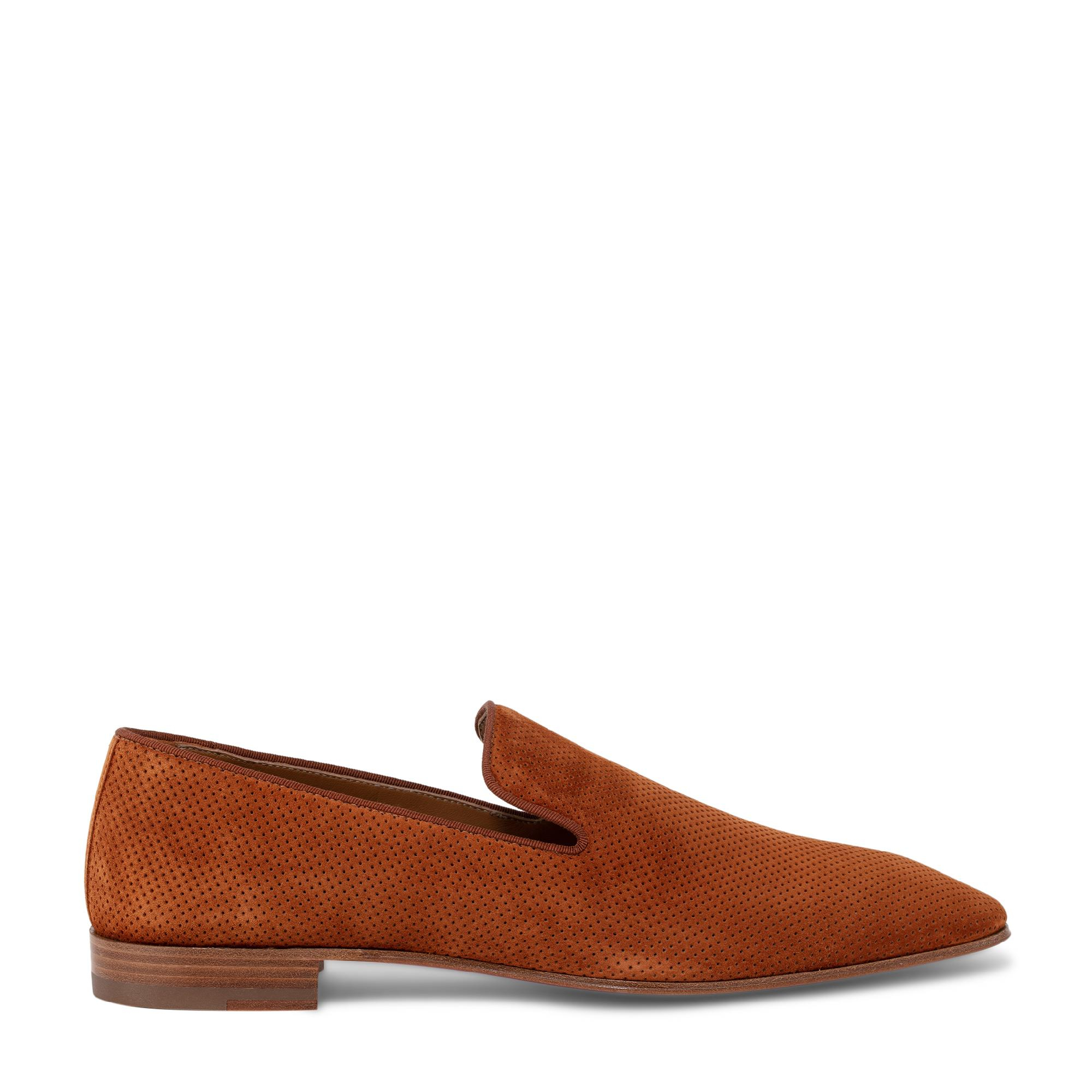 Dandelion moccasin loafers