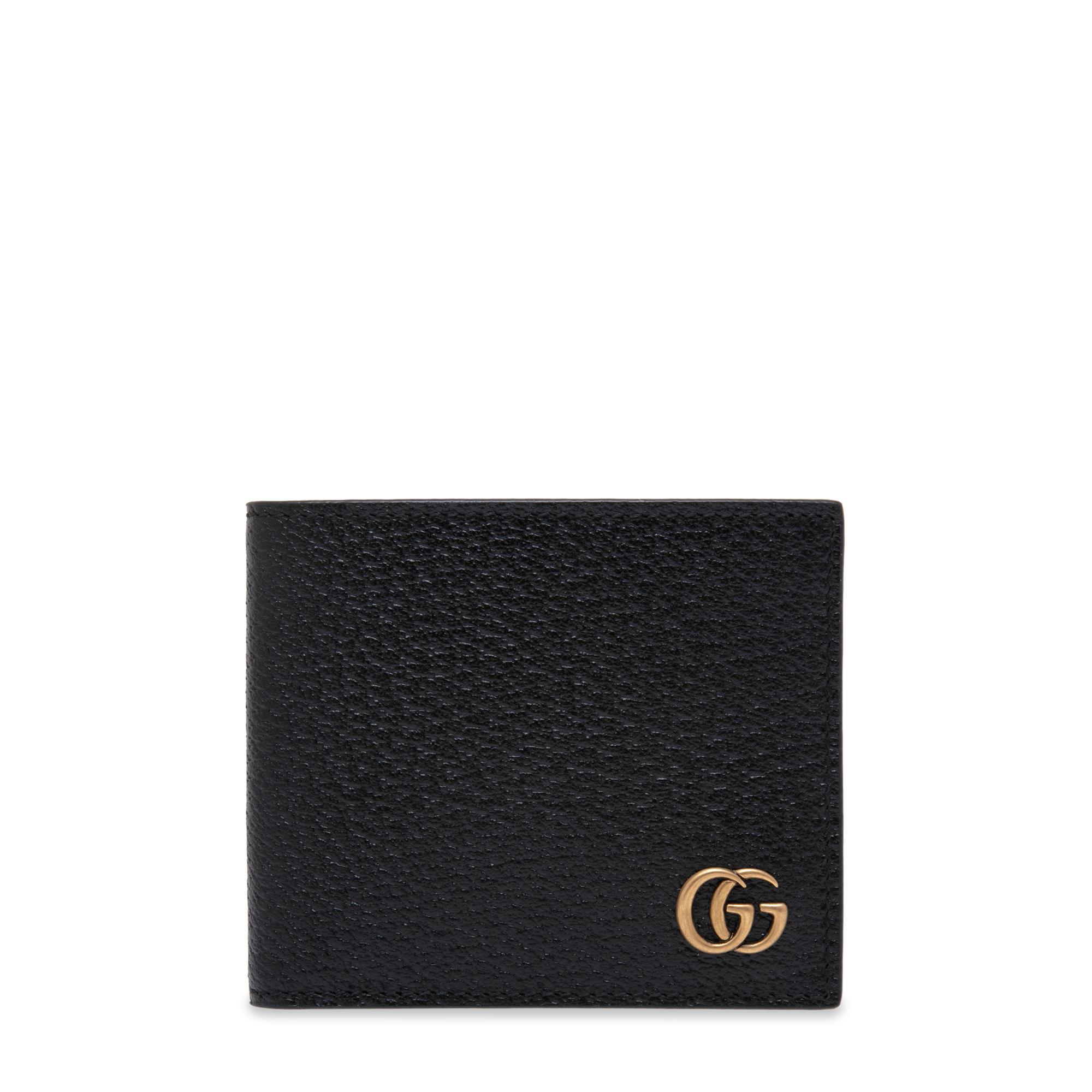 GG Marmont leather bi-fold wallet