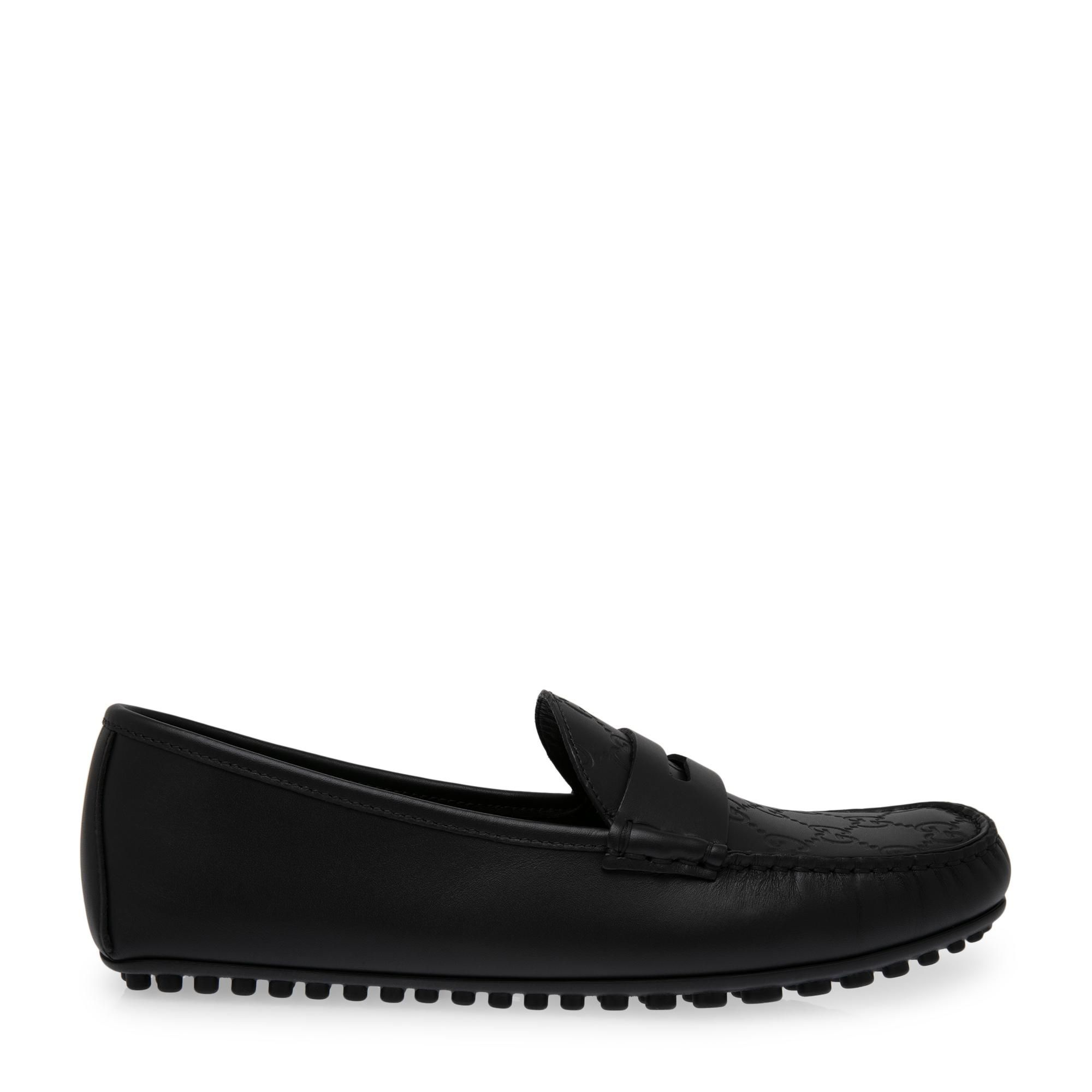 Signature driver loafers