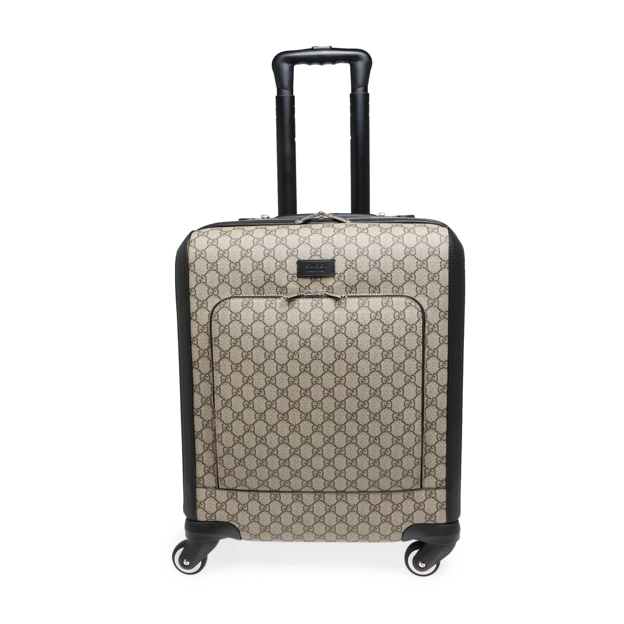 GG Supreme carry-on bag