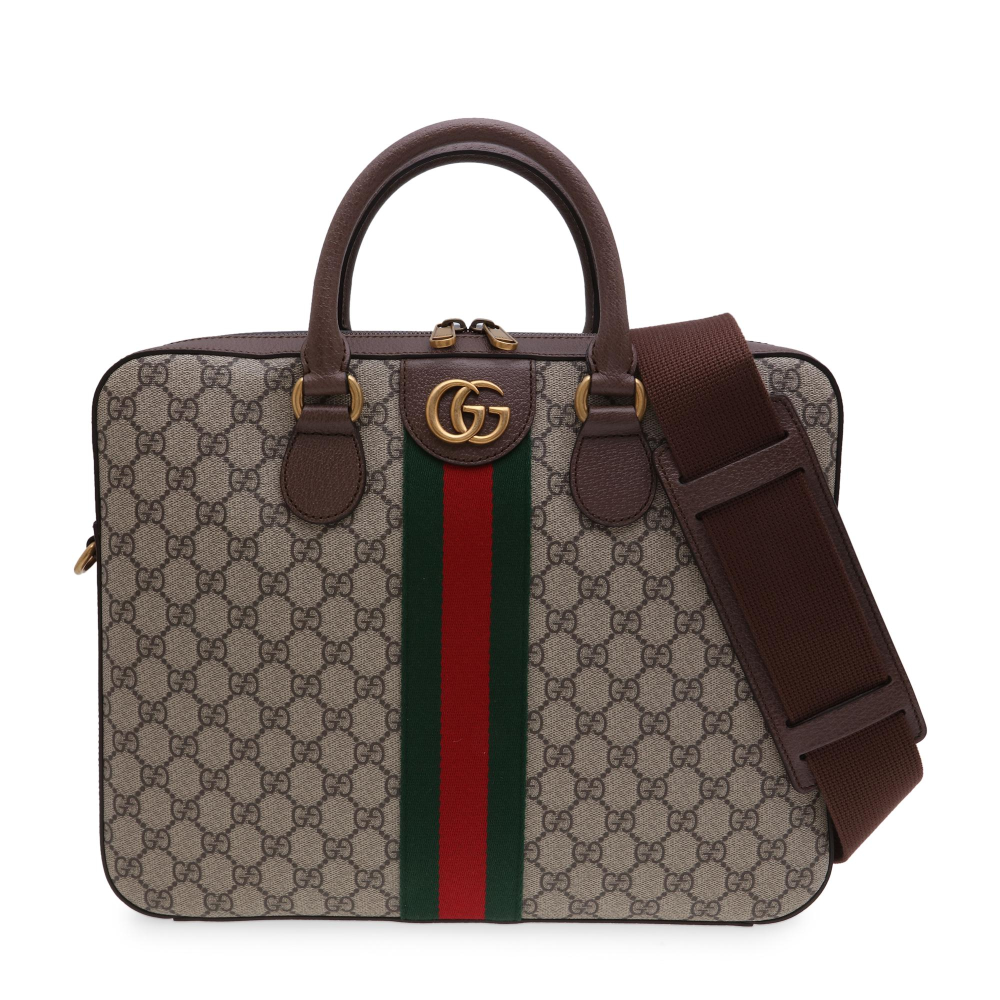 Ophidia GG briefcase