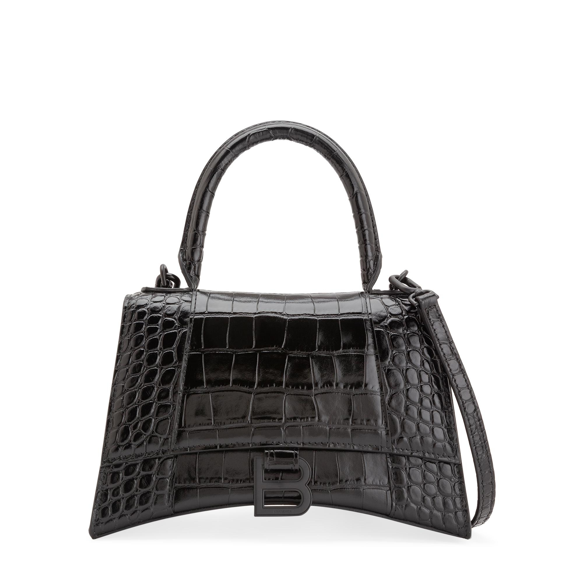 Hourglass S top-handle bag