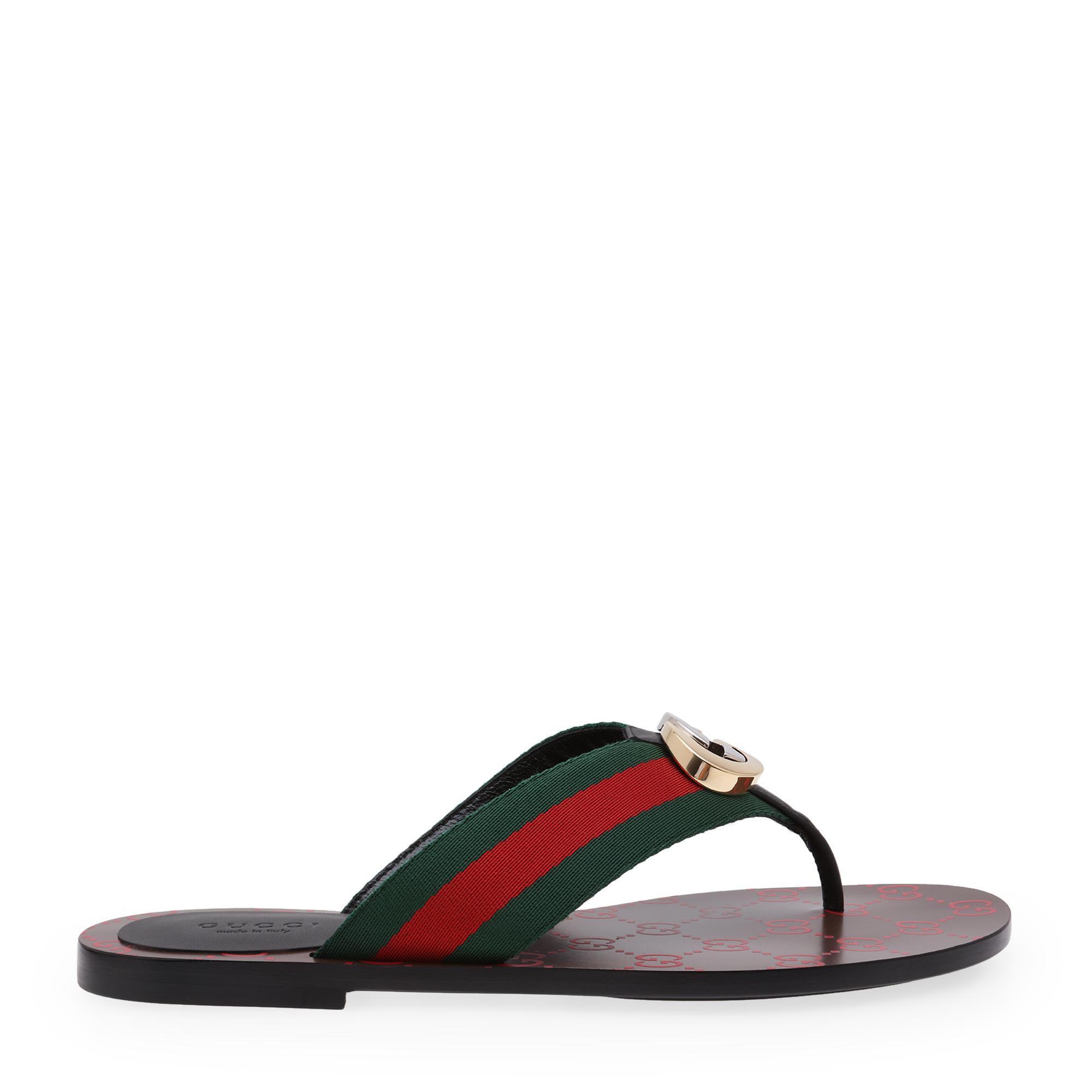 GG flat sandals