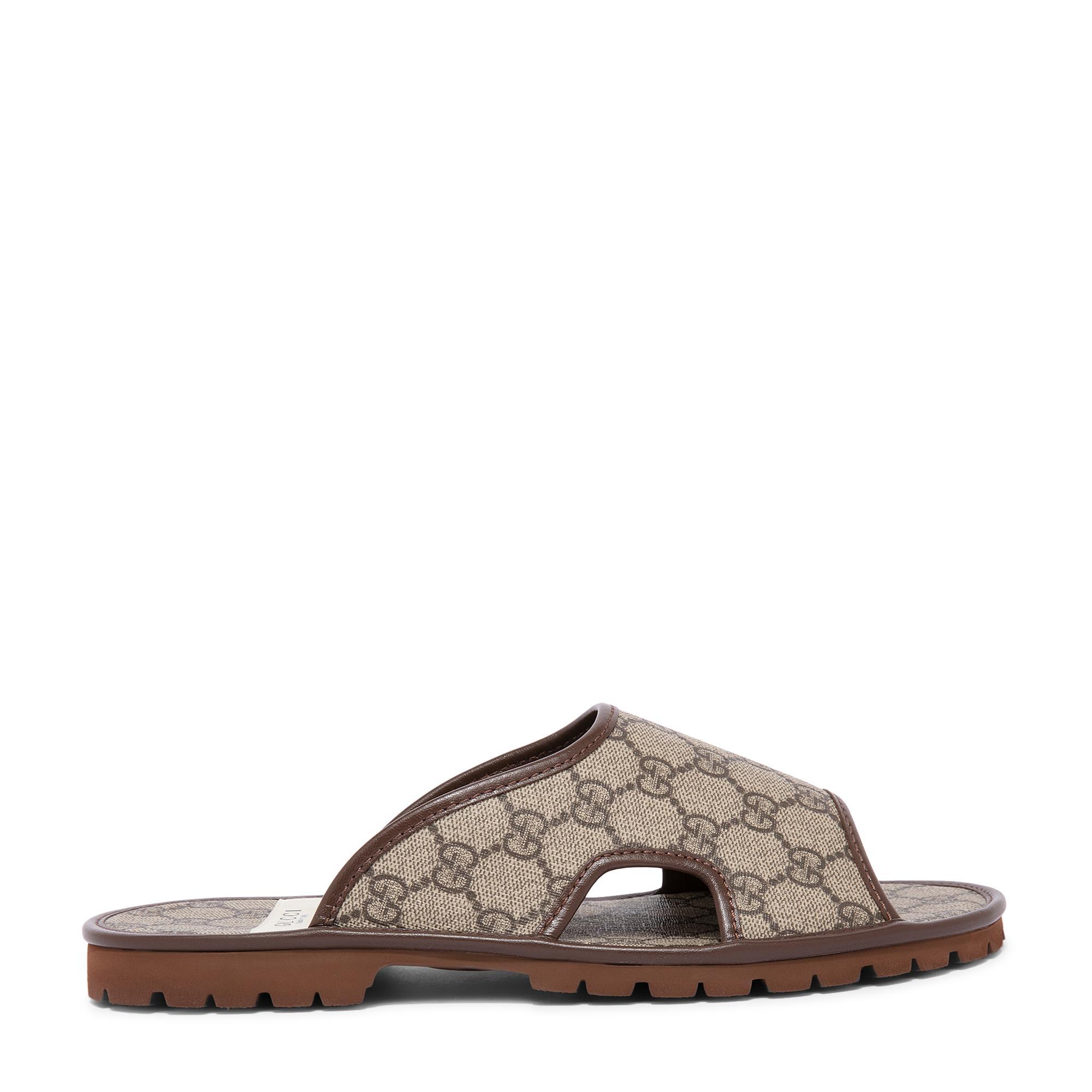 GG Supreme slide sandals