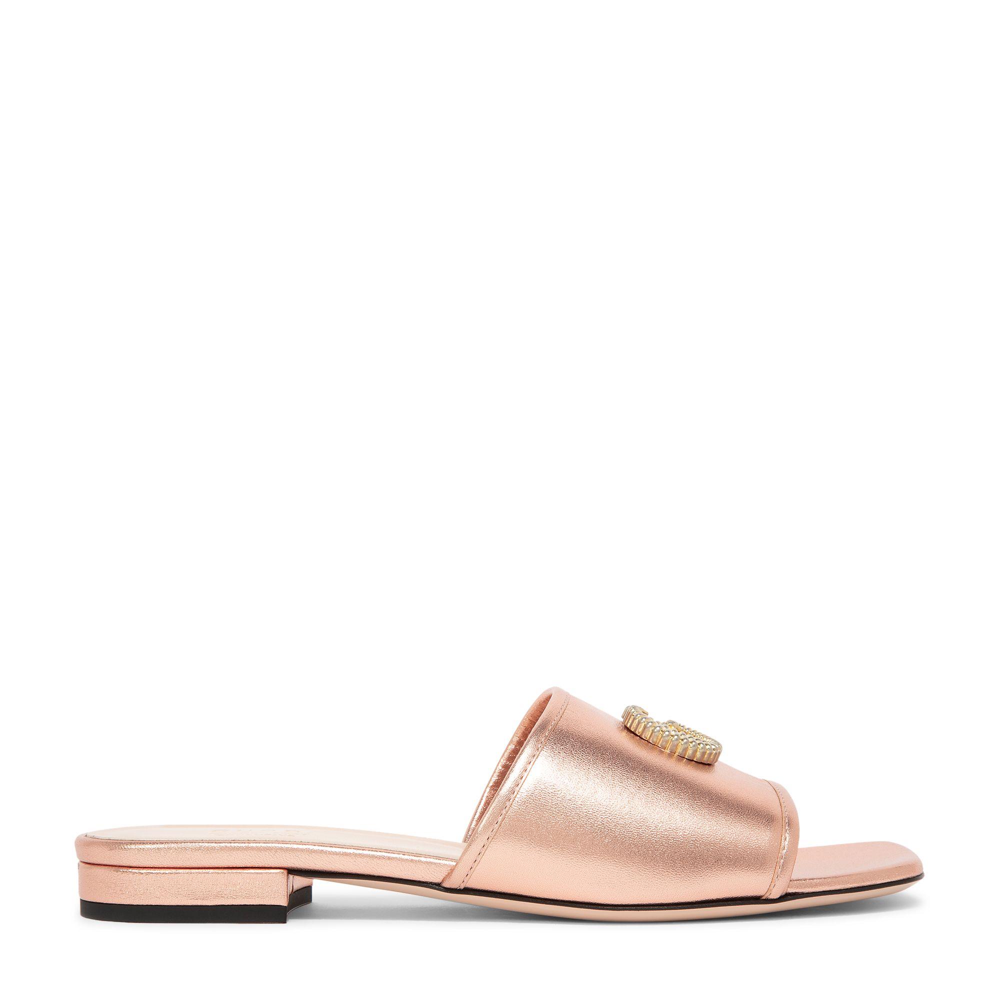 Double G slide sandals