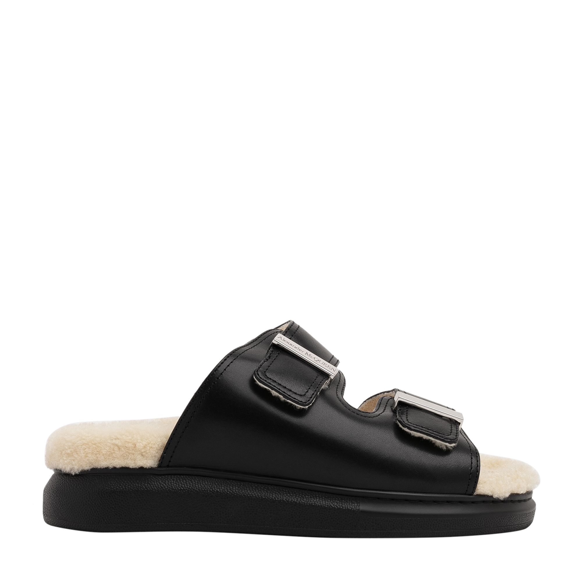 Hybrid slide sandals