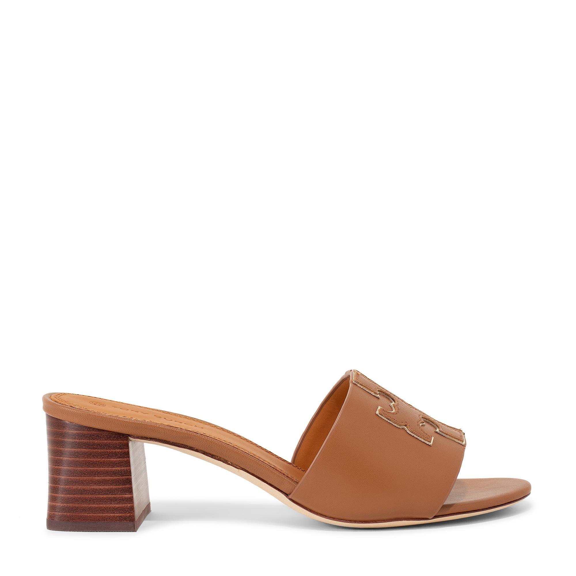 Ines mid-heel slide sandals