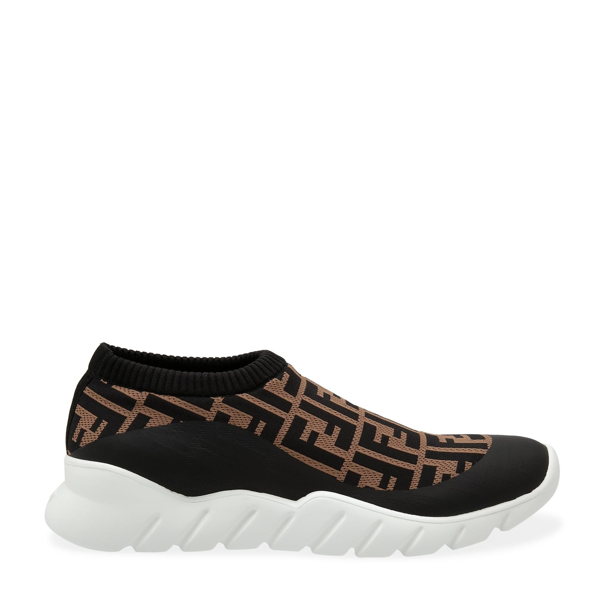 Tech fabric sock sneakers