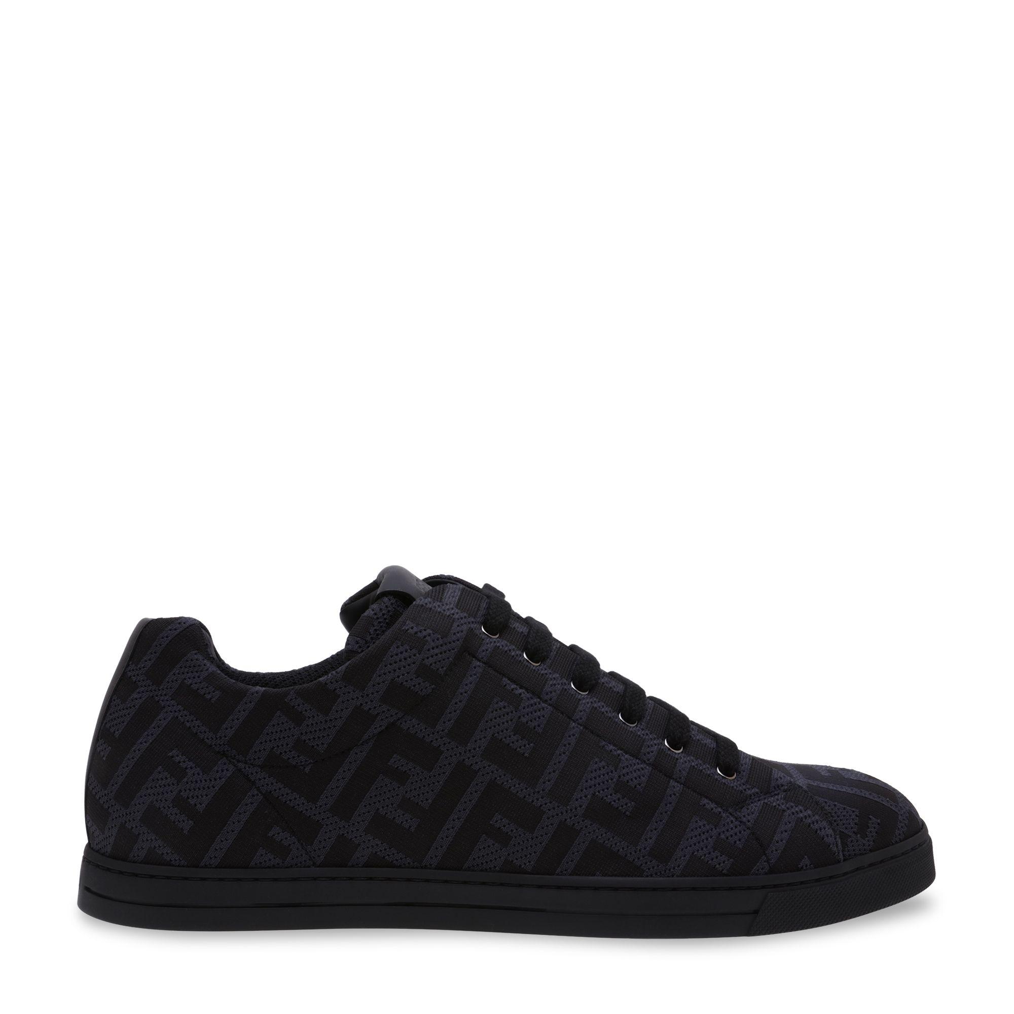 Tech fabric sneakers