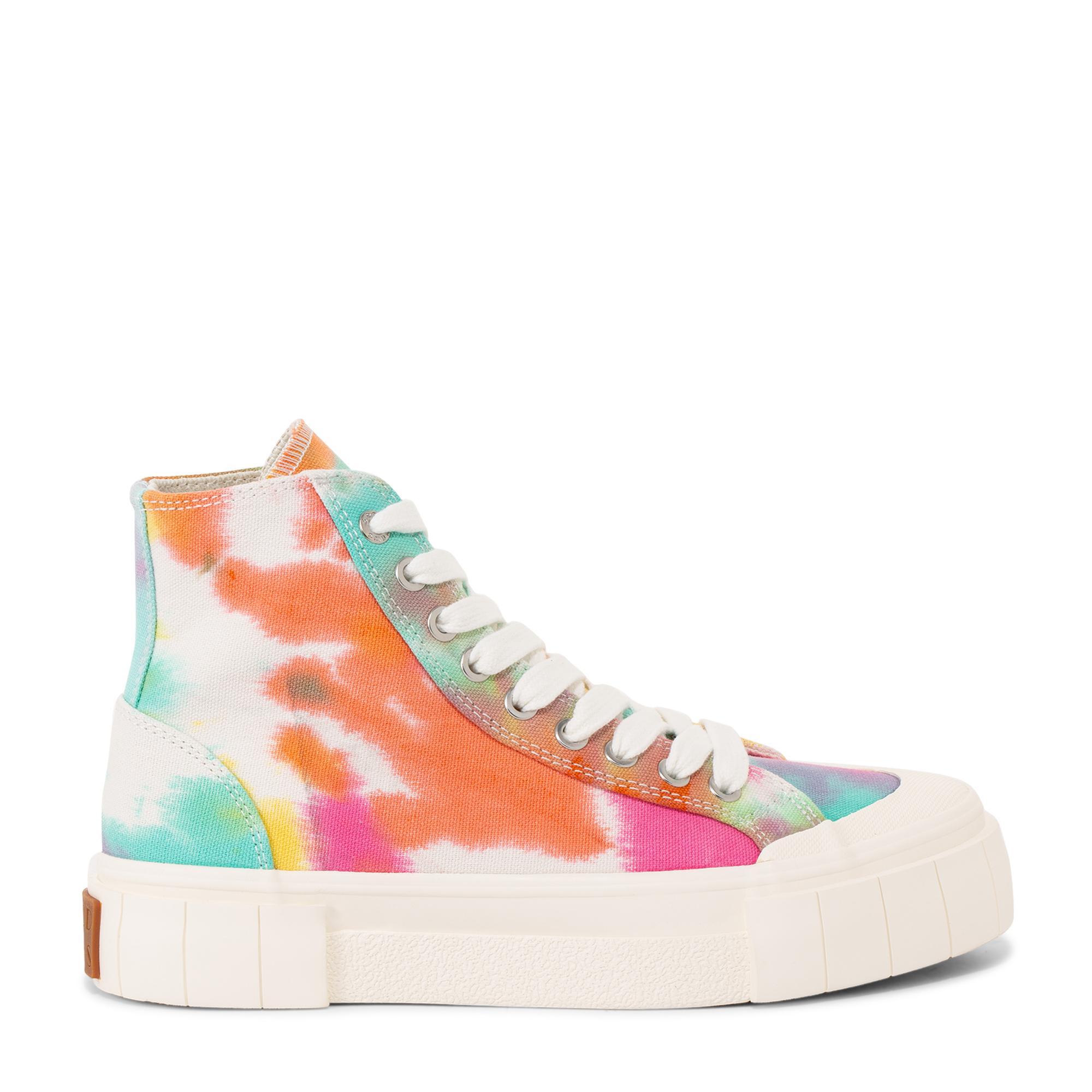 Palm ombre tie-dye sneakers
