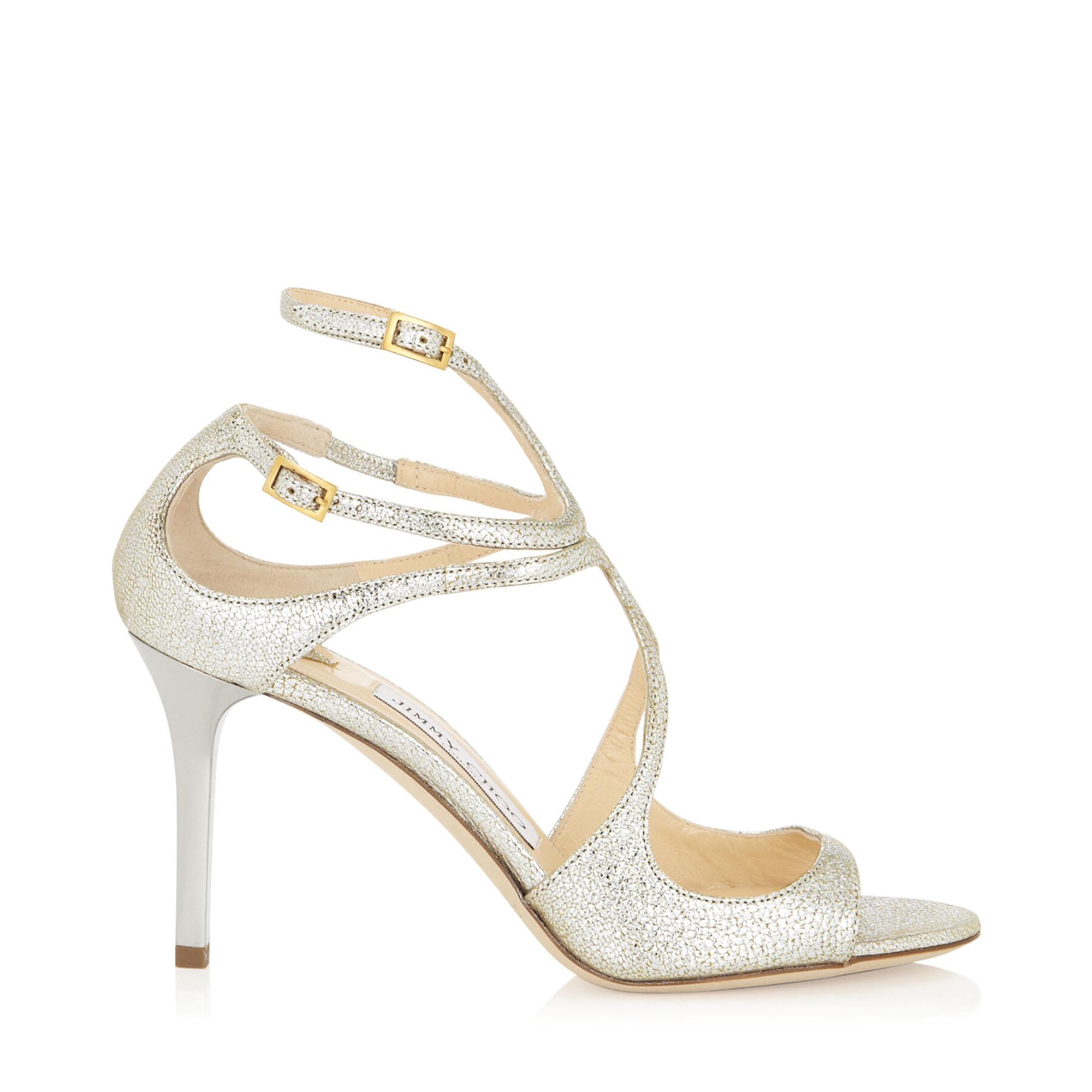 Ivette 85 glitter sandals