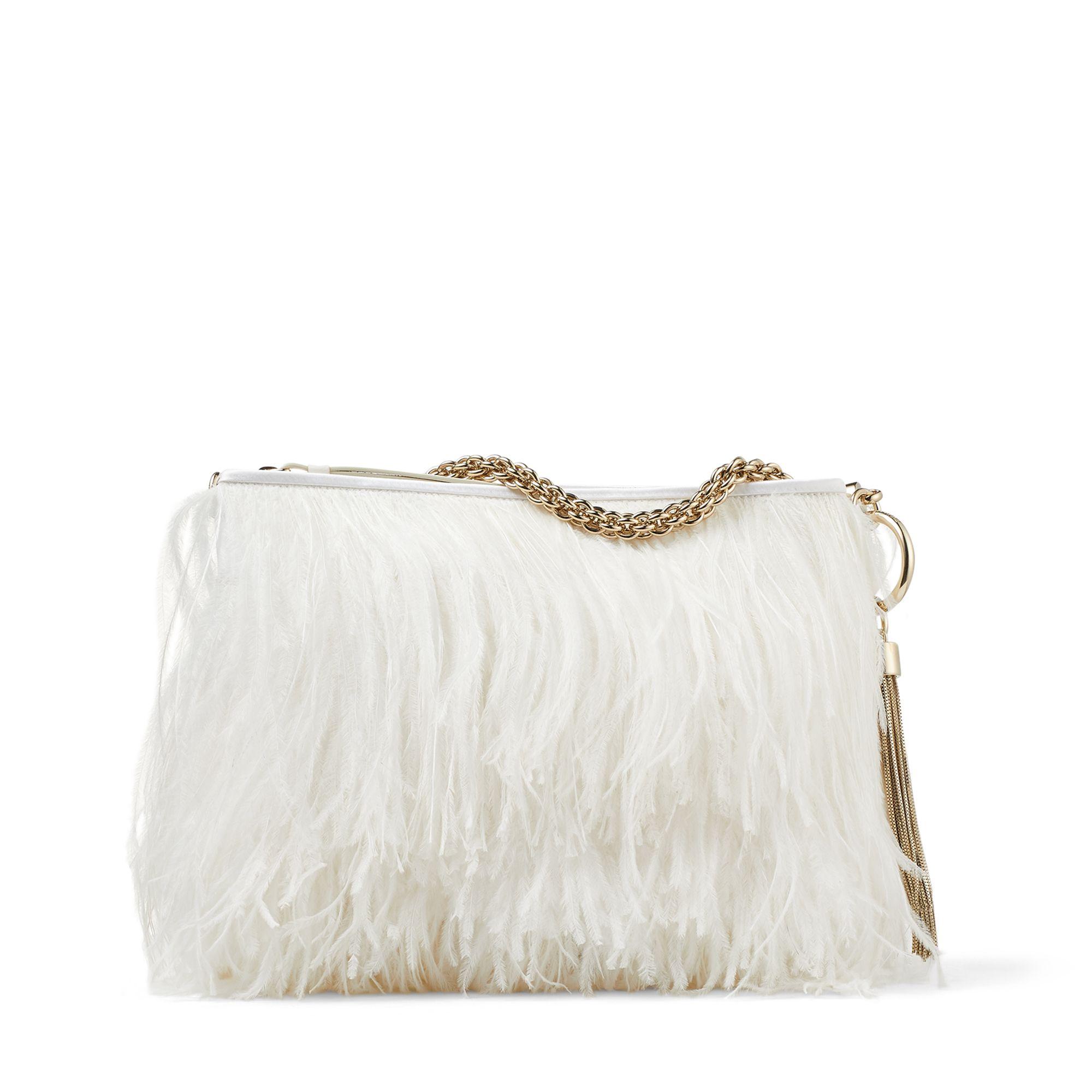 Callie feather bag