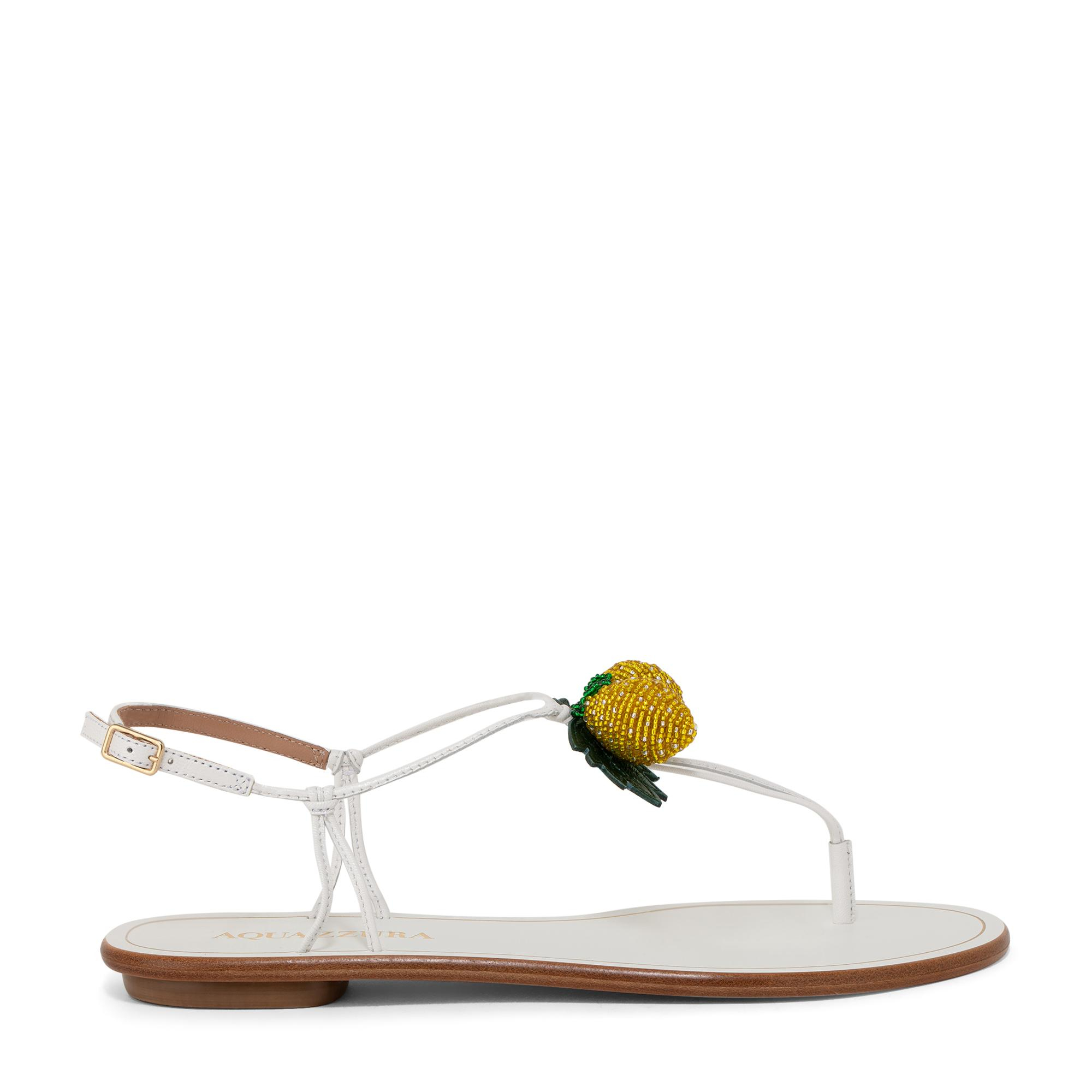 Limoncello flat sandals