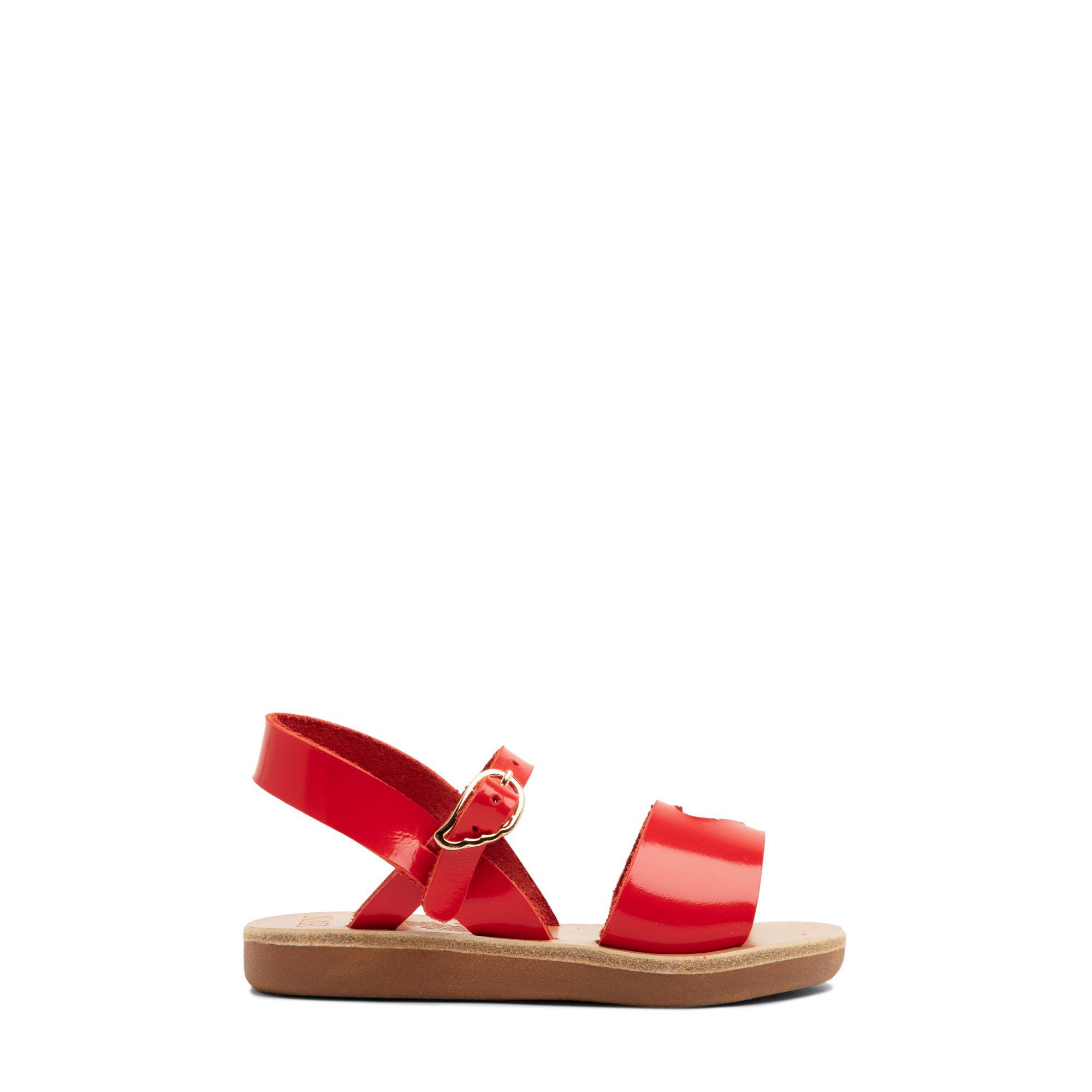 Exclusive Little Kalliroi heart cutout sandals