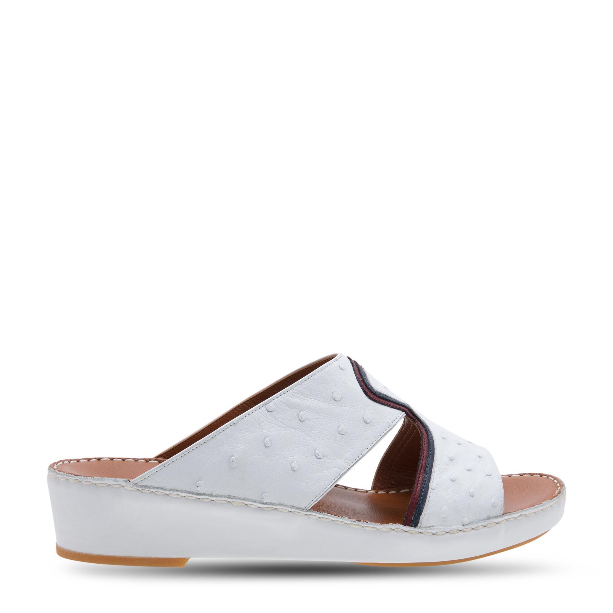 Peninsula Doublure Ostrich sandals