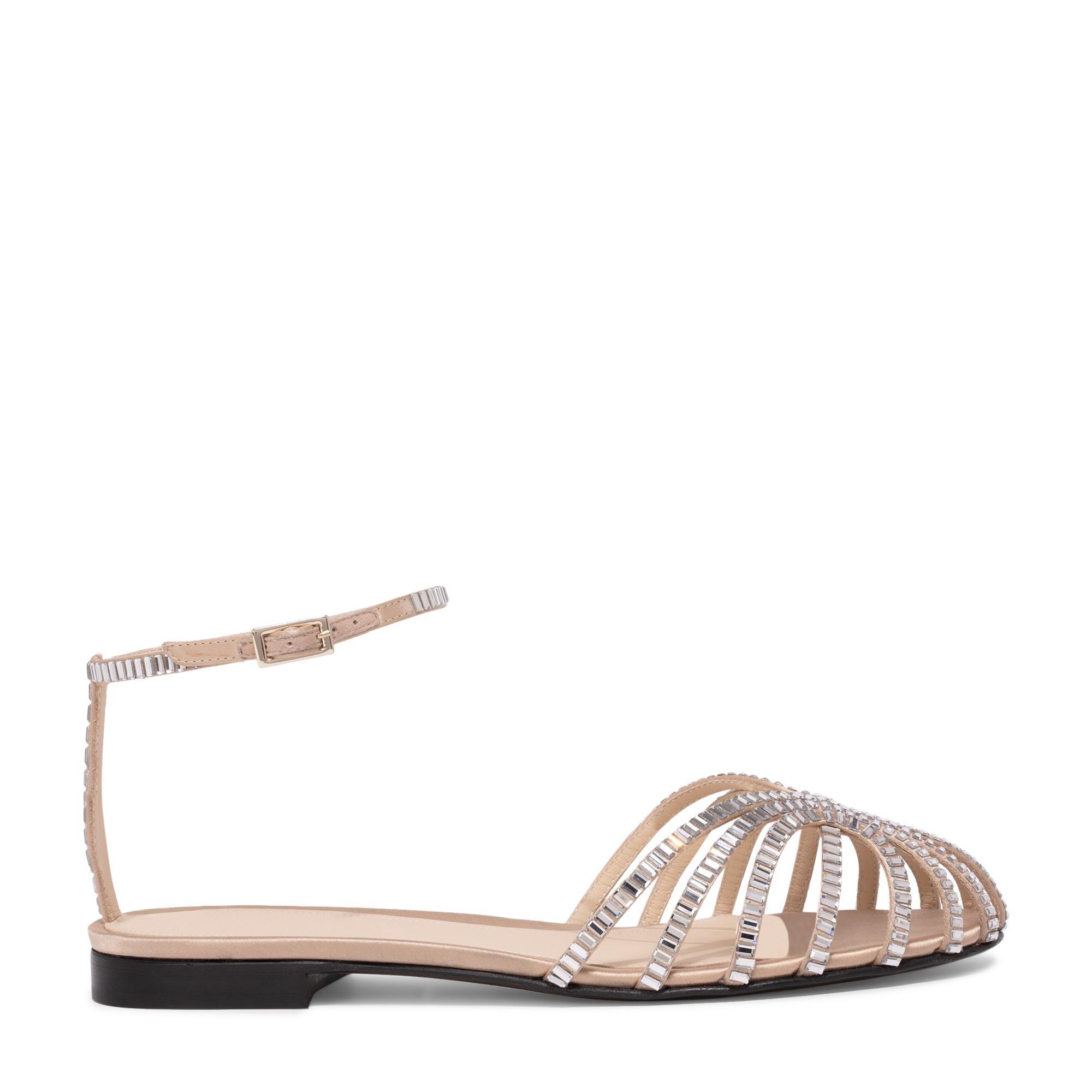 Rebecca satin sandals