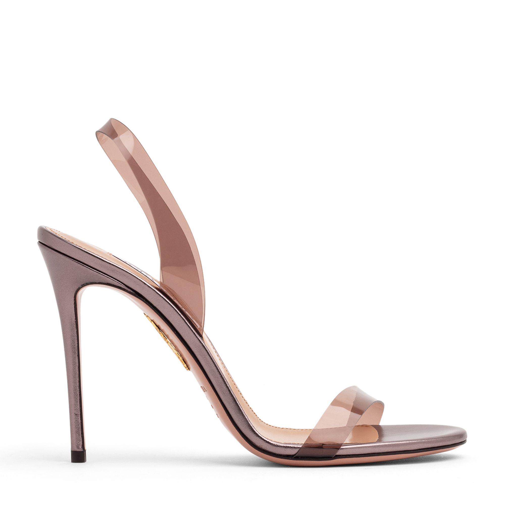 So Nude Plexi sandals