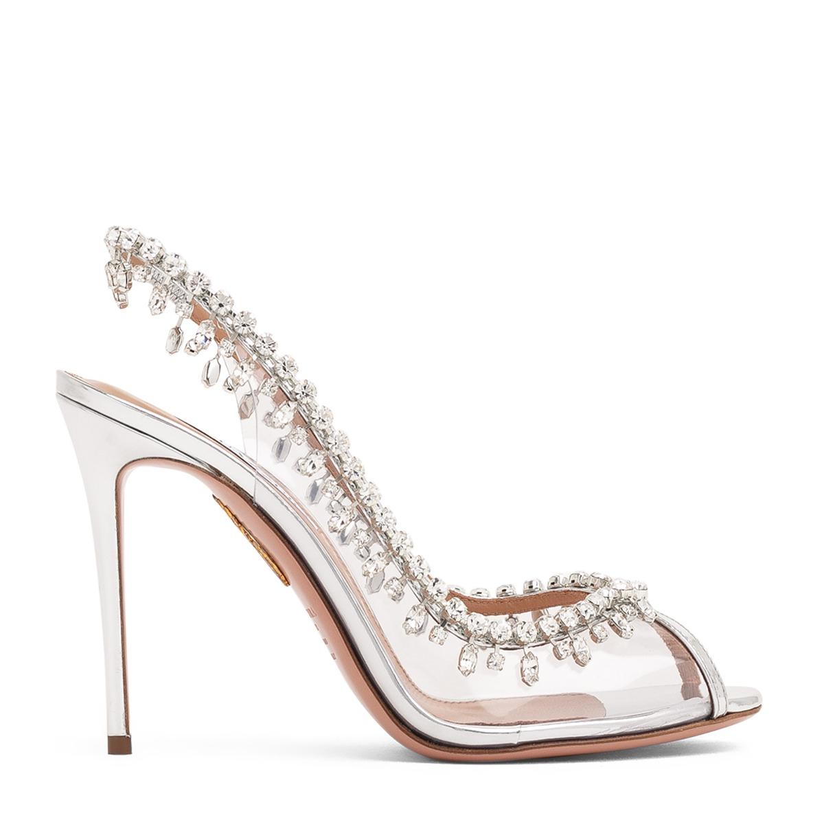 Temptation crystal sandals