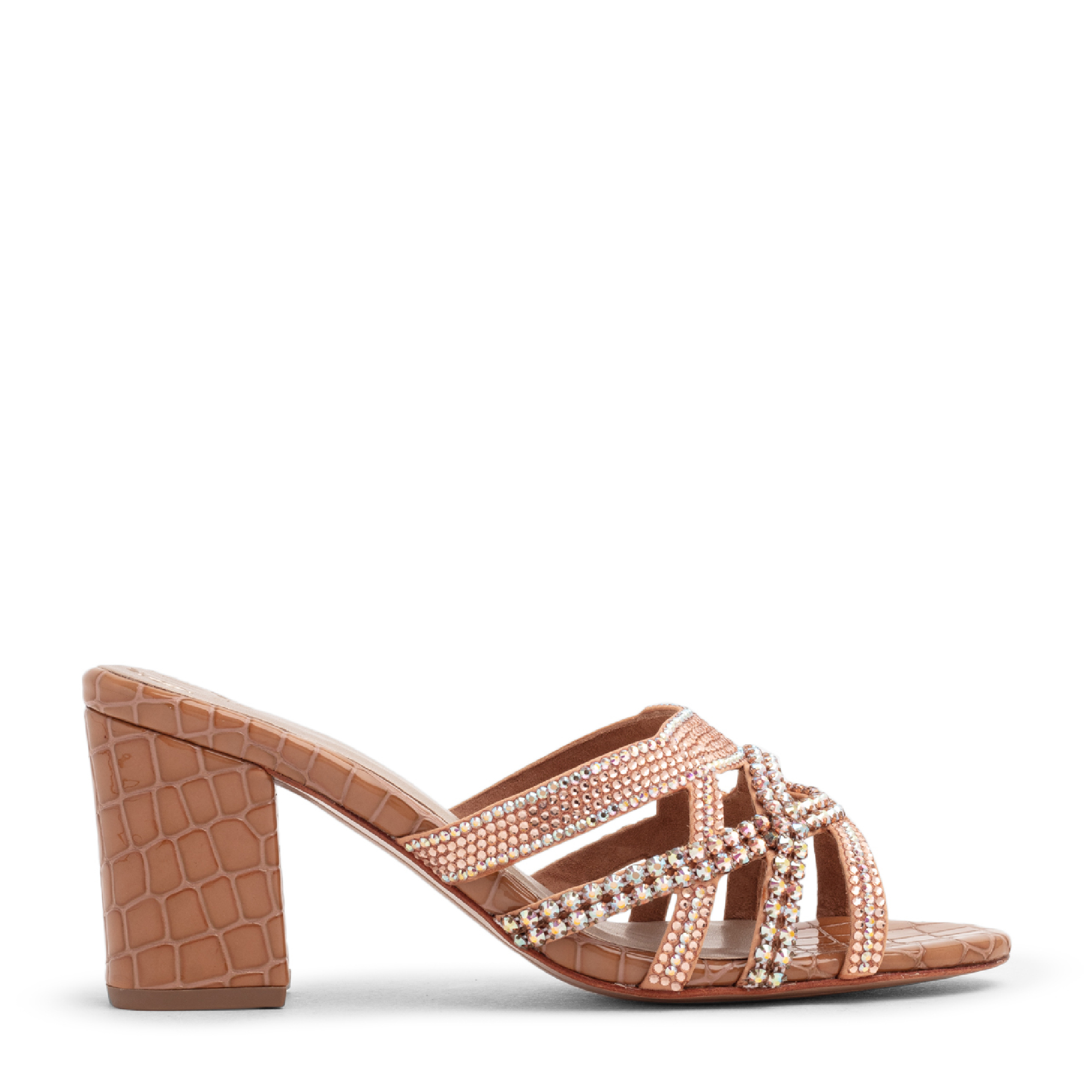 Frapin crystal embellished sandals