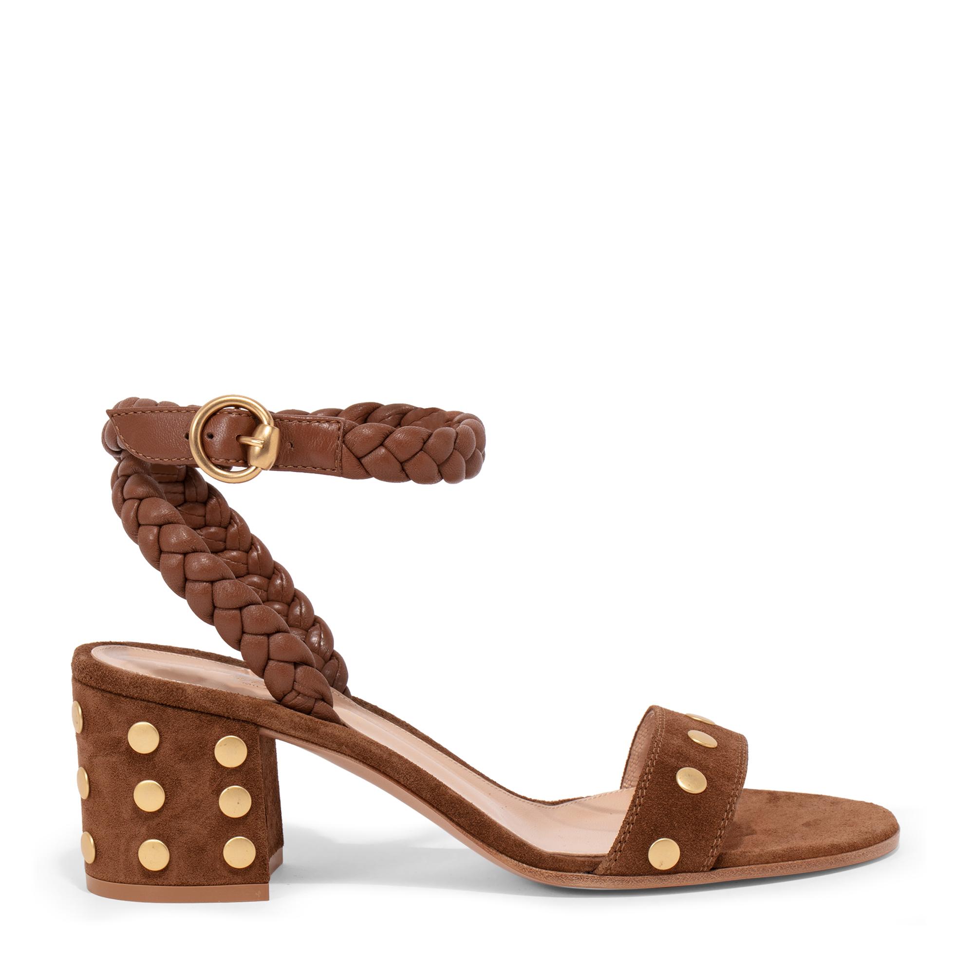 60 suede sandals